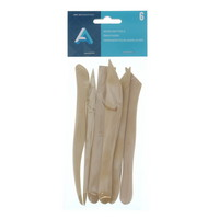 MODEL TOOLS WOOD 6IN 6PC SET