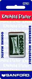 Design Kneaded Rubber Eraser, Medium