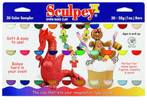 Sculpy 30 Color 1 Oz Set