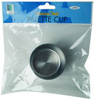 Art Alternatives Stainless Steel Palette Cups Single Palette Cup  Small, 158 x 78