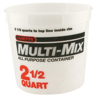 Multi Mix Pail, 2.5 Quart