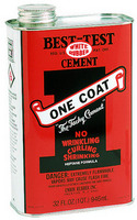 BestTest OneCoat Rubber Cement Quart