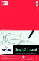 Canson Cross Section Paper Pads 11 x 17 8x8