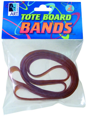 Rubber Bands Tote Board 2 Pack