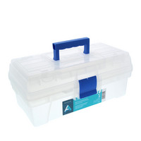Artist Tool Boxes, 14  Clear
