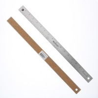 CThru Flexible Stainless Steel Ruler, 18