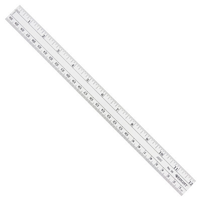 CThru Flexible Inch & Metric Ruler, 12