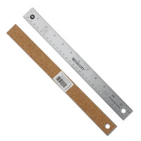 CThru Flexible Stainless Steel Ruler, 12