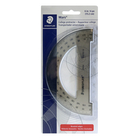 PROTRACTOR 6IN TINTED 180D CD