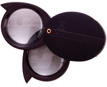 10X Magnifying Loupe,1in, Black