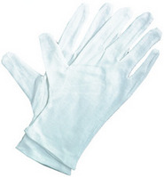 Art Alternatives Soft White Cotton Gloves