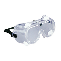 Tekk Soft Chemical Splash and Impact Safety Goggles, Clear Adjustable