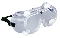 Tekk Soft Chemical SplashImpact Safety Goggle Clear