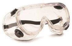 ANTIFOG CHEMICAL GOGGLES
