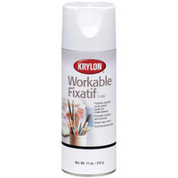Krylon Workable Fixatif, 11 oz.