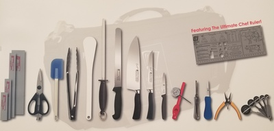 CCI CULINARY KNIFE KIT 2018