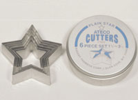 Plain Star Cutter Set