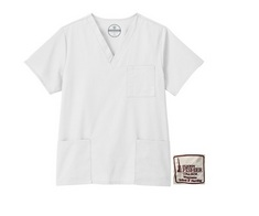 Fundamentals Unisex 3 Pocket Scrub Top
