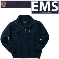 EMS JOB SHIRT 14 ZIP SML