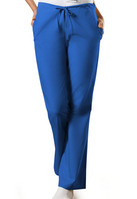 Womens Drawstring Pants Petite Color Royal Blue