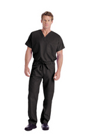 Unisexsex Scrub Pants, Black