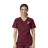 TAMU Womens VNeck Top