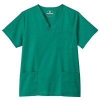 Unisex Three Pocket Scrub Top