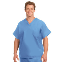 Fashion Seal Healthcare Unisex Fashion Blend 1 Pocket Scrub Shirt