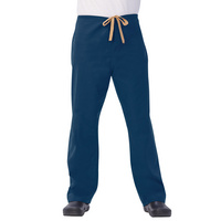 Fashion Seal Healthcare Unisex 100% Cotton Reversible Drawcord Scrub Pant