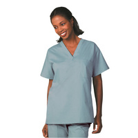 Fashion Seal Healthcare Unisex Fashion Blend Reversible Scrub Shirt