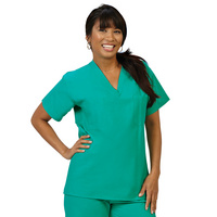 Fashion Seal Healthcare Unisex 100% Cotton Reversible Scrub Shirt