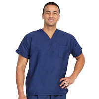 Fashion Seal Healthcare Unisex Fashion Poplin 1 Pocket Scrub Shirt