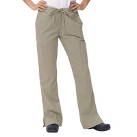 Fashion Seal Healthcare Womens Simply Soft Flare Cargo Pant