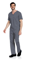 Landau All Day Unisex VNeck Scrub Top