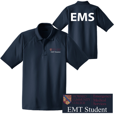 EMT Student Solid Polo