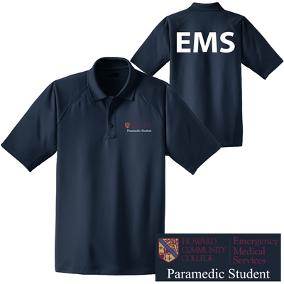 Paramedic Student Solid Polo