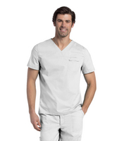 Landau Mens Pre  Washed V  Neck Tunic (Regular Length)