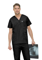 Landau Mens 5 Pocket Scrub Top