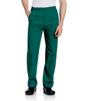 Landau  Mens Elastic Waist Pant (Regular Length)