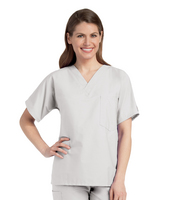 Landau Unisex V  neck Scrub Top