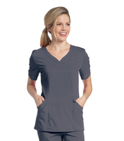 Landau Womens Chloe Sweetheart Neck Tunic.  Nursing Program (Regular Length)