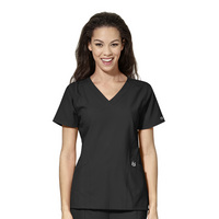 WonderWink W23 Stylized Vneck Scrub Top 6155