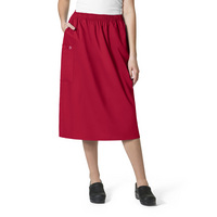 WonderWink WWK Womens Pull on Cargo Skirt 701