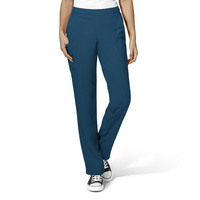 WonderWink W23 Womens Flat Front Double Cargo Scrub Pant 5155 Petite, PreOrder Only