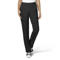 WonderWink W23 Womens Flat Front Double Cargo Pant, 5155 Petite