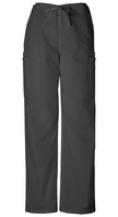 Mens Drawstring Cargo Scrub Pants