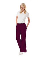Womens Natural Flare Pant, Wine