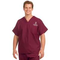 BSN Mens Unisex Scrub Top