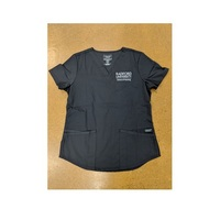 Womens scrub top (embroidered)