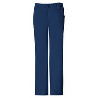 Womens Navy Luxe Drawstring Pant